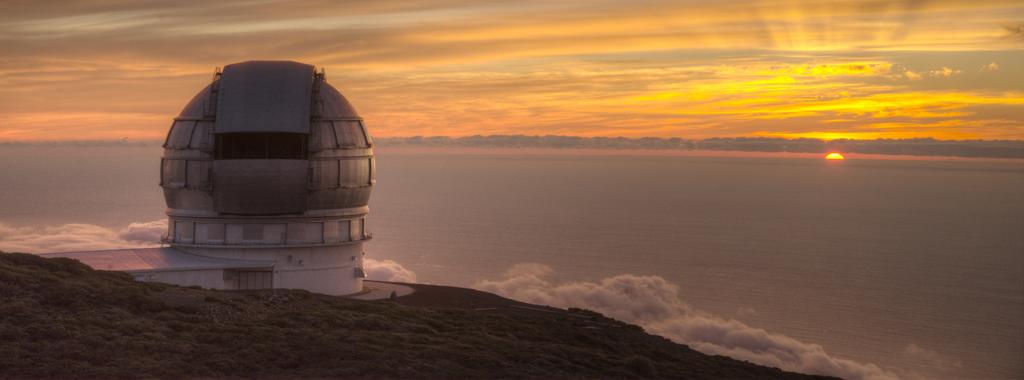 Gran Telescopio Canarias (GranTeCan), La Palma.