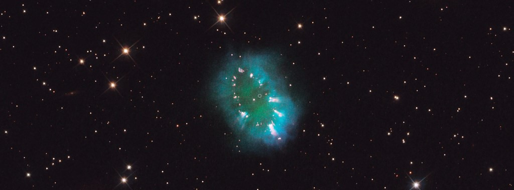 the Necklace Nebula , Credit: NASA, ESA, and the Hubble Heritage Team (STScI/AURA)